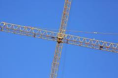 Machinery construction crane Royalty Free Stock Photos