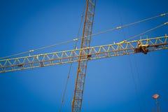 Machinery construction crane Stock Photo