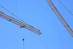 Machinery construction crane Stock Photography