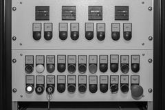 Machinery control panel Royalty Free Stock Image