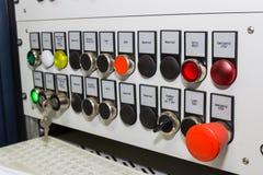 Machinery control panel Royalty Free Stock Photo