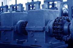 Machinery and equipment in a workshop Stock Photos