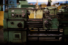 Machinery factory old Stock Image