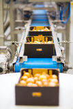 Machinery in fruit and vegetable wholesale stock photo