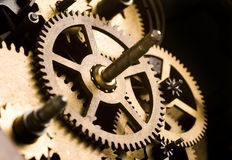 Machinery gears Royalty Free Stock Photos