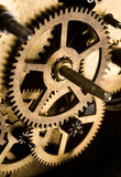 Machinery gears Stock Images