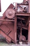 Machinery. From an iron furnace stock photography