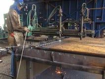 Machinery maintenance Stock Photography