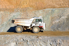 Machinery for mining. Stock Images