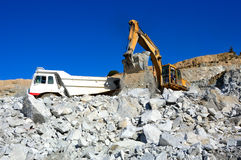 Machinery for mining. Stock Photos