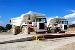 Machinery for mining. Royalty Free Stock Image