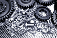 Machinery Parts Royalty Free Stock Photo