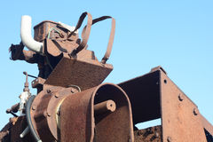 Machinery. A photo of some broken rusty machinery Royalty Free Stock Photos