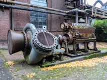 machinery in the plant stock photography
