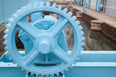 Machinery wheel Stock Images