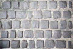 Machines à paver en pierre Photographie stock libre de droits