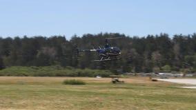 Machines à rêves de Côte Pacifique ; atterrissage d'hélicoptère clips vidéos