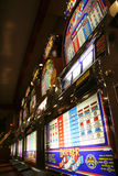 Machines à sous de casino Photos stock