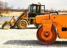 Machines. Heavy machines Stock Photos