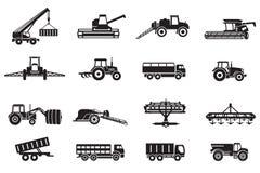 Machines agricoles illustration libre de droits