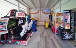 Machines d'amusement Photos stock