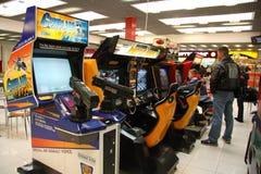 Machines d'arcade Photographie stock
