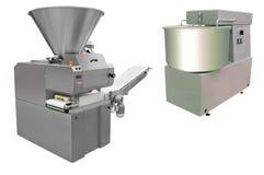 Machines de boulangerie photo stock