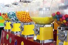 Machines de bubble-gum Photographie stock libre de droits