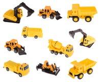 Machines de construction images libres de droits