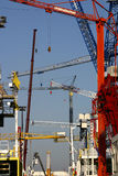 Machines de construction Images stock