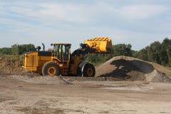 Machines de construction Photo libre de droits