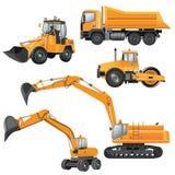 Machines de construction Photographie stock