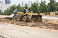 Machines de construction Images stock