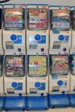 Machines de Gashapon Photo libre de droits