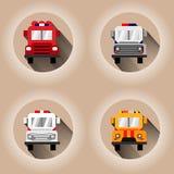 Machines de premiers secours illustration stock