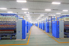 Machines et équipement de rotation d'usine Photos libres de droits