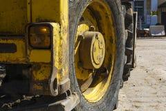 Machines lourdes de route images libres de droits