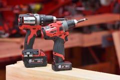 Machines-outils de Milwaukee Photo stock