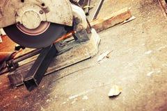 Machines pour la coupe en métal Images stock
