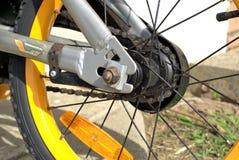 Machines van achterwiel van fiets Stock Foto