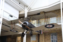 Machines of War. World War One British sopwith Camel biplane fighter plane Royalty Free Stock Photo