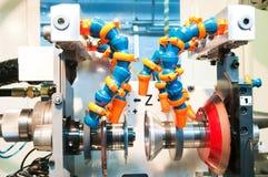 Machining center equipment Stock Images