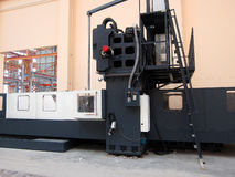 Machining Center. Milling machining center machine on shop floor royalty free stock images