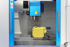 Machining center Royalty Free Stock Image