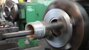 Machining części fabryczne zbiory wideo