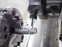 Machining mold and die part for automotive industrial Royalty Free Stock Photography