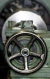 Machining tool detail. Industrial machining tool detail view royalty free stock photo