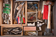 Machinist Tools Stock Photo