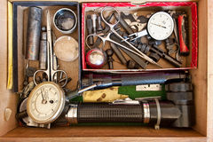 Machinist Tools #3 Royalty Free Stock Image
