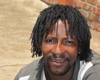 Macho africano do xhosa fotografia de stock royalty free